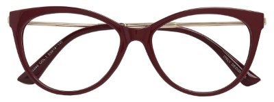 Armação Óculos Receituário AT 5569 Vinho