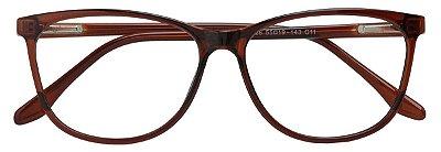 Armação Óculos Receituário AT 3328 Marrom Transparente