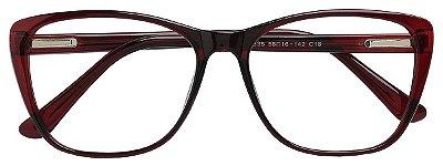 Armação Óculos Receituário AT 3335 Vinho