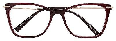 Armação Óculos Receituário AT 5594 Vinho