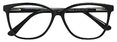 Armação Óculos Receituário AT 3330 Preto