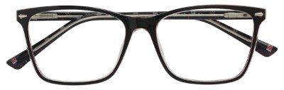 Armação Óculos Receituário AT 3010 Preto/Vermelho
