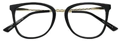 Armação Óculos Receituário AT 5521 Preto