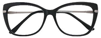 Armação Óculos Receituário AT 6350 Preto