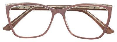 Armação Óculos Receituário AT 1158 Nude