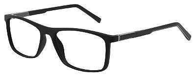 Armação Óculos Receituário AT 1039 Preto/Cinza