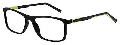 Armação Óculos Receituário AT 1039 Preto/Verde