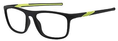 Armação Óculos Receituário AT 1032 Preto/Verde