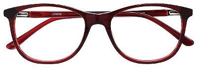 Armação Óculos Receituário AT 6356 Vinho