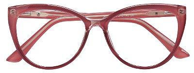 Armação Óculos Receituário AT 2039 Rosa