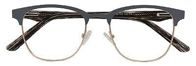 Armação Óculos Receituário AT 7050 Cinza