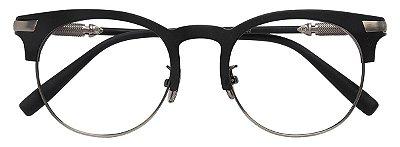 Armação Óculos Receituário AT 3003 Preto/Chumbo