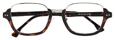 Armação Óculos Receituário AT 9138 Tartaruga
