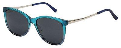 Óculos de Sol Feminino AT 88106 Azul Transparente