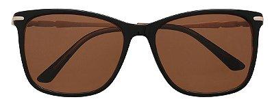 Óculos de Sol Feminino AT 55116 Marrom
