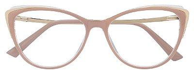 Armação Óculos Receituário AT 011 Nude