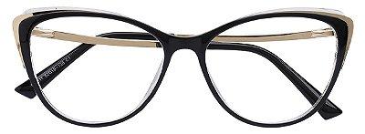 Armação Óculos Receituário AT 011 Preto