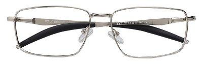 Armação Óculos Receituário AT 7102 Prata