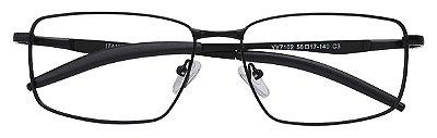 Armação Óculos Receituário AT 7102 Preto