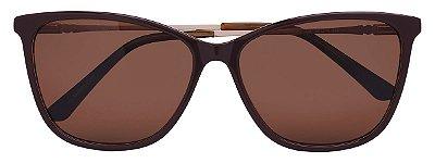 Óculos de Sol Feminino AT 55122 Marrom