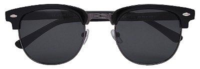 Óculos de Sol Clubmaster Unissex AT 1348 Preto/Chumbo
