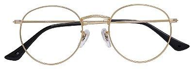 Armação Óculos Receituário AT 9274 Dourado