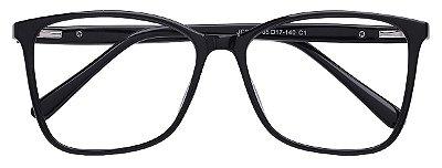 Armação Óculos Receituário AT 2035 Preto