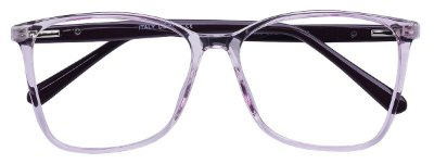 Armação Óculos Receituário AT 2035 Lilás Transparente