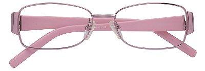 Armação Óculos Receituário AT 757 Lilás/Rosa