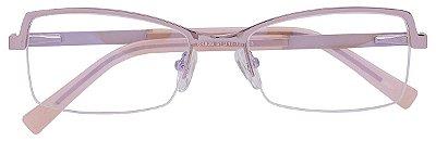 Armação Óculos Receituário AT 829 Lilás/Rosa