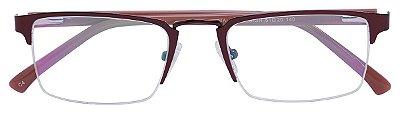 Armação Óculos Receituário AT 6429 Vermelho