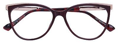 Armação Óculos Receituário AT 615 Vinho
