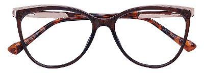 Armação Óculos Receituário AT 615 Marrom