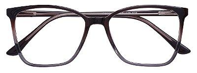 Armação Óculos Receituário AT 3340 Marrom Degradê