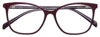 Armação Óculos Receituário AT 33230 Vinho