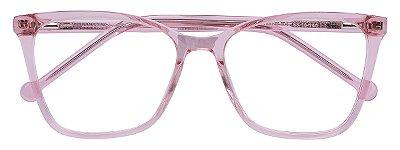 Armação Óculos Receituário AT 33215 Rosé Transparente