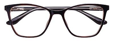 Armação Óculos Receituário AT 99062 Marrom