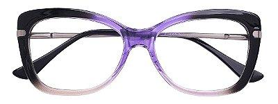 Armação Óculos Receituário AT 6356 Azul Degradê
