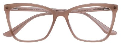 Armação Óculos Receituário AT 33223 Gelo Transparente