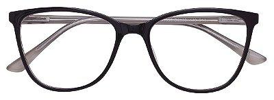 Armação Óculos Receituário AT 3338 Marrom/Branco