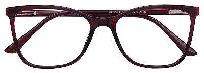 Armação Óculos Receituário AT 3341 Vinho