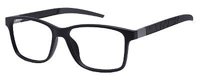 Armação Óculos Receituário AT 1057 Preto/Cinza