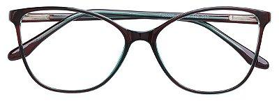 Armação Óculos Receituário AT 3329 Verde
