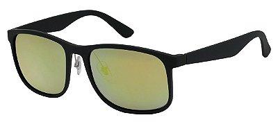 Óculos de Sol Masculino Espelhado AT 253 Dourado/Verde