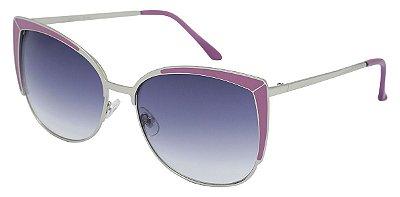 Óculos de Sol Feminino AT 5569 Lilás/Prata
