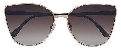 Óculos de Sol Feminino AT 88454 Dourado Gatinho