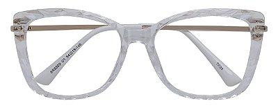 Armação Óculos Receituário AT 6029 Transparente Mosaico