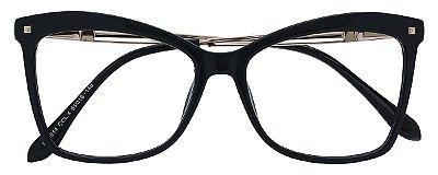 Armação Óculos Receituário AT 5514B Preto