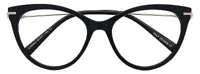 Armação Óculos Receituário AT 5603 Preto