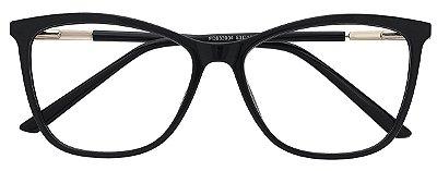 Armação Óculos Receituário AT 633004 Preto